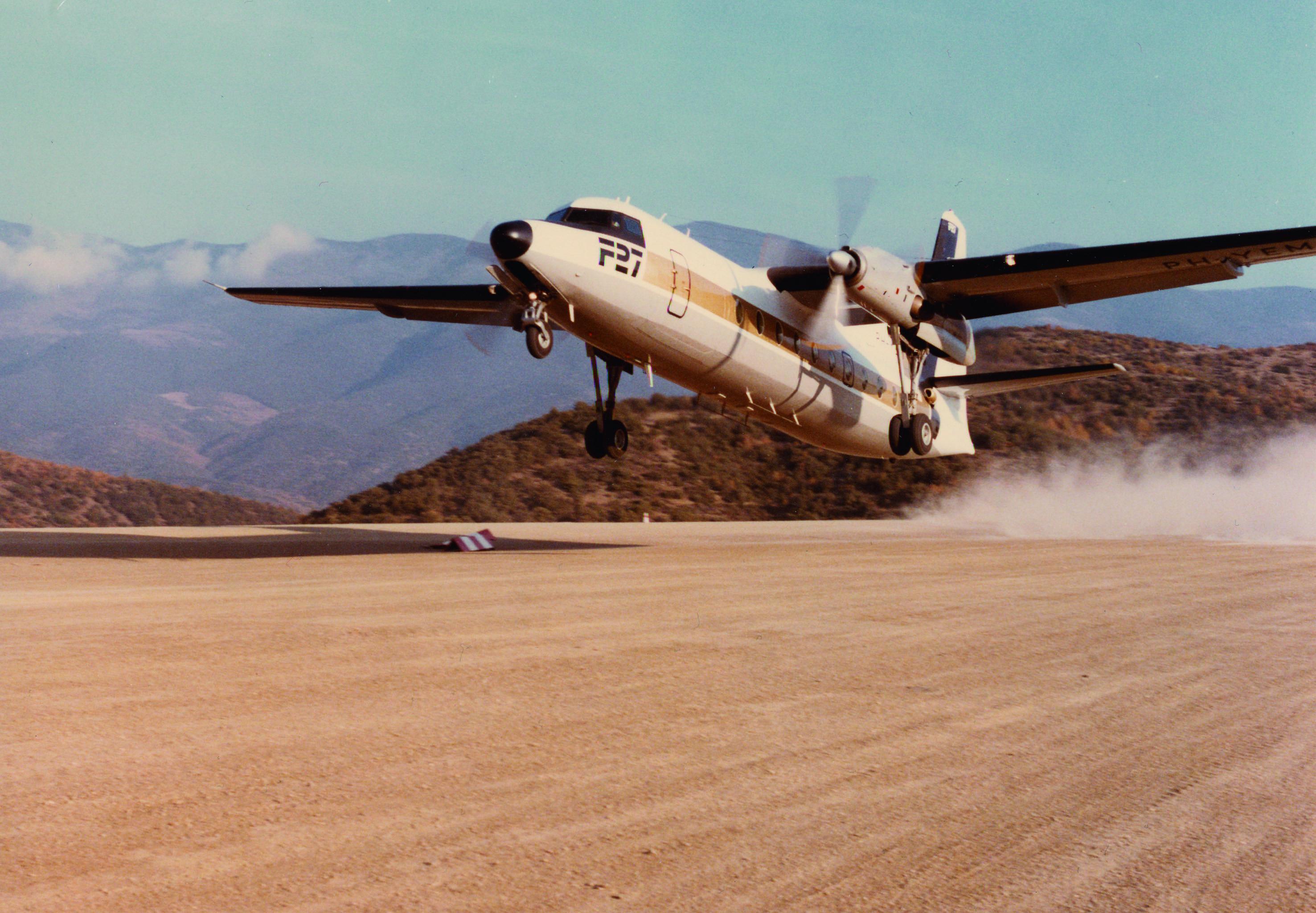 27 Fokker demo