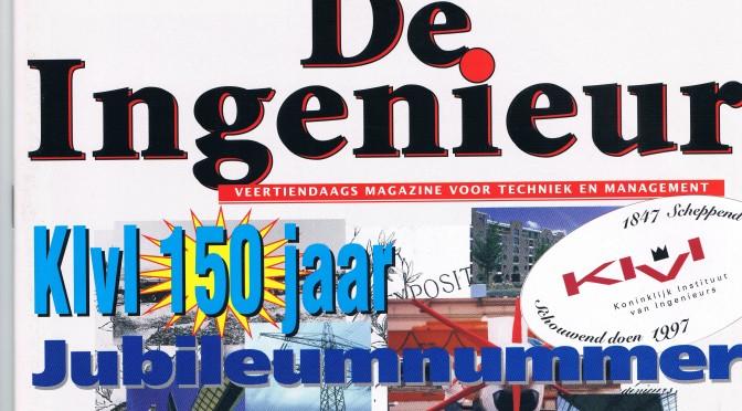 KIVI 150 jaar (1997) Nederland: het Japan van Europa, Atlantisch georiënteerd