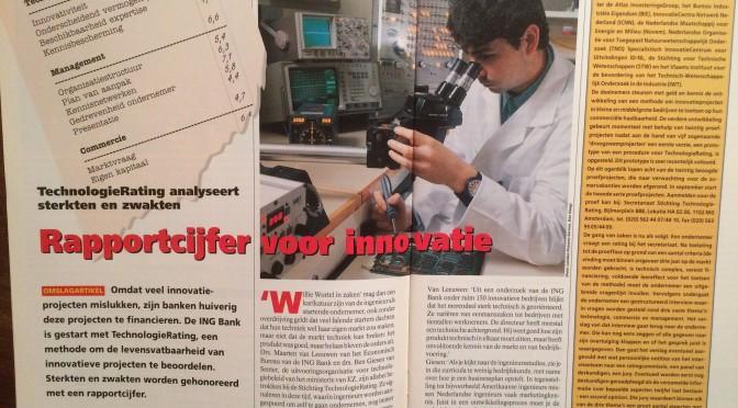 TechnologieRating analyseert sterkten en zwakten (1995 12)
