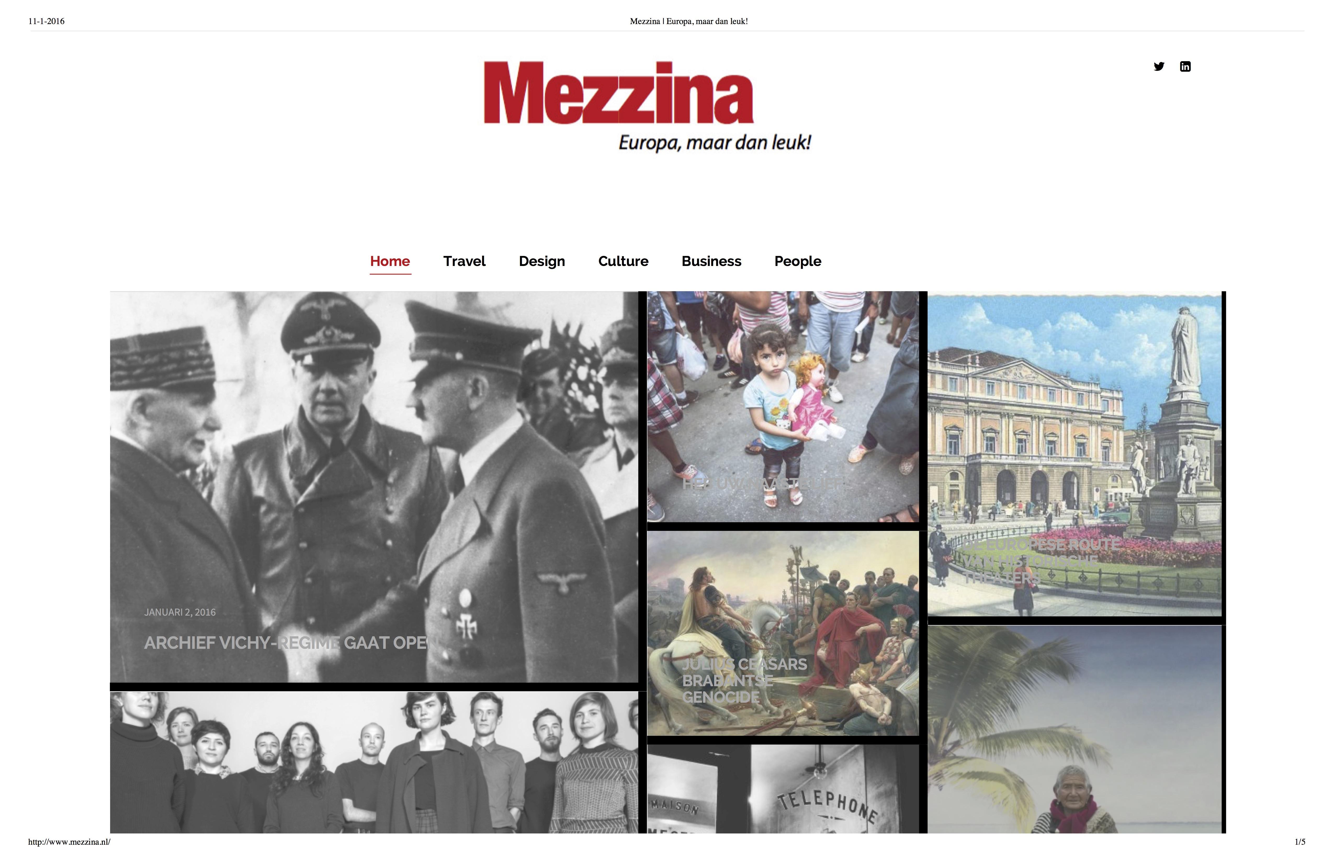 Mezzina | Europa, maar dan leuk!