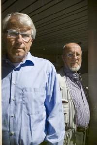 Den Haag, 26 juni 2008. Kees de Groot (l) en Kees Le Pair (r).