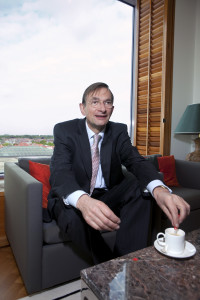 Den Haag, 8 mei 2009. Shell CEO Jeroen van der Veer.