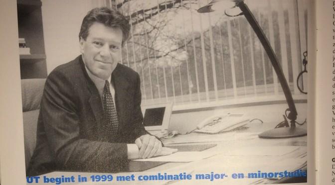 UT begint in 1999 met combinatie major- en minorstudie –  Studenten in Twente  krijgen 'paradigmashift'  (1998, nr. 20)